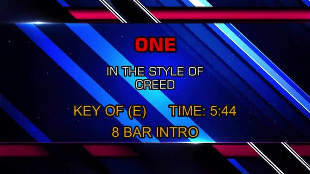 Creed - One