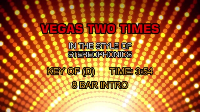 Stereophonics - Vegas Two Times