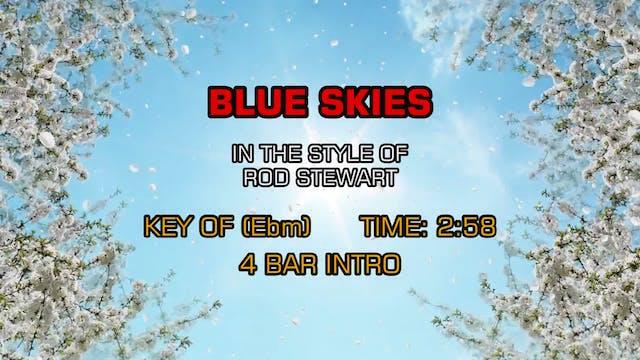 Rod Stewart - Blue Skies