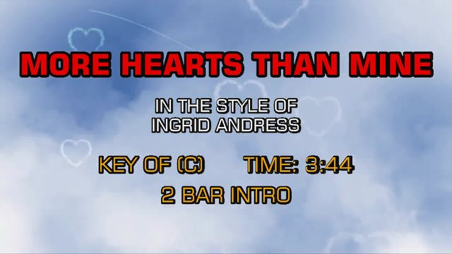 Ingrid Andress - More Hearts Than Mine