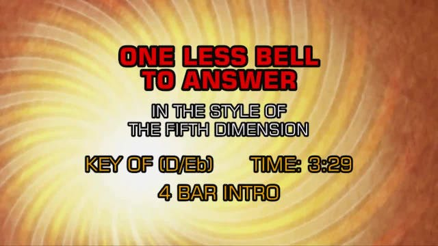 5th Dimension, The - One Less Bell To...