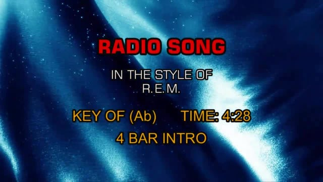 R.E.M. - Radio Song