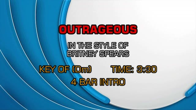 Britney Spears - Outrageous