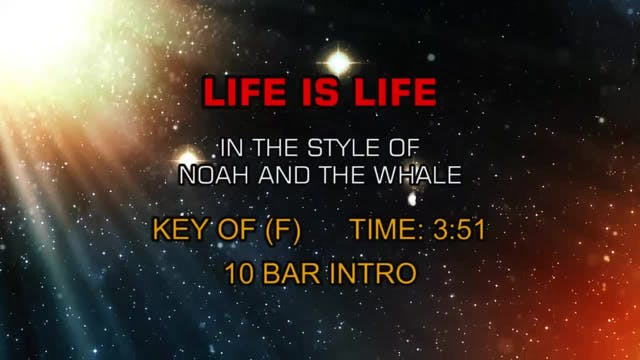 Noah And The Whale - Life Is Life