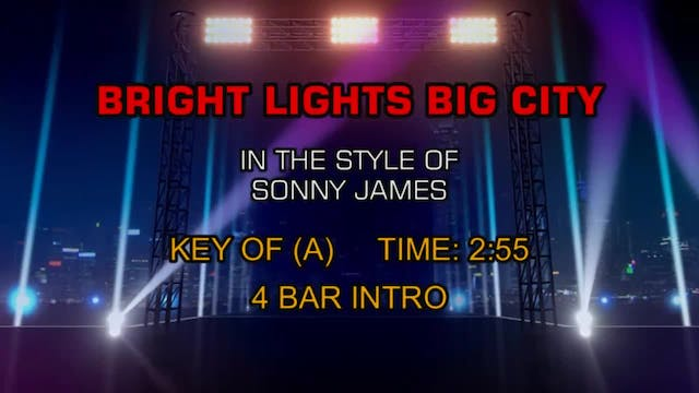 Sonny James - Bright Lights, Big City