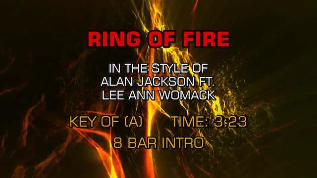 Alan Jackson ftg. Lee Ann Womack - Ring Of Fire