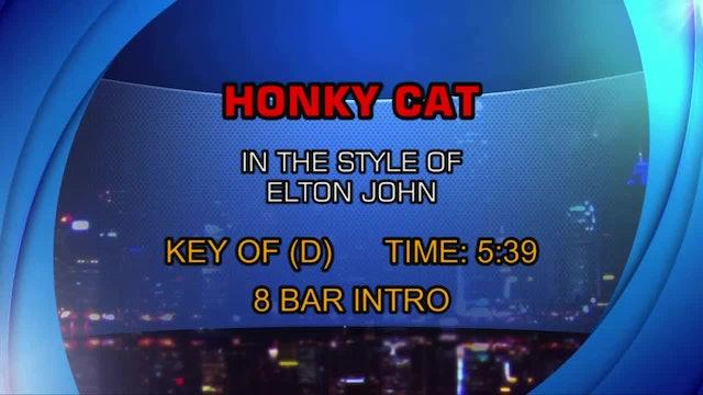 Elton John - Honky Cat