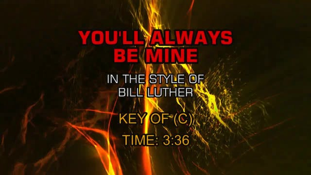 Bill Luther - You Will Always Be Mine