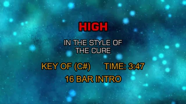 Cure, The - High