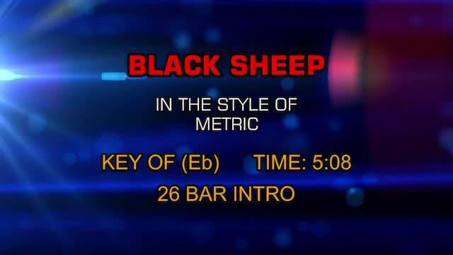 Metric - Black Sheep