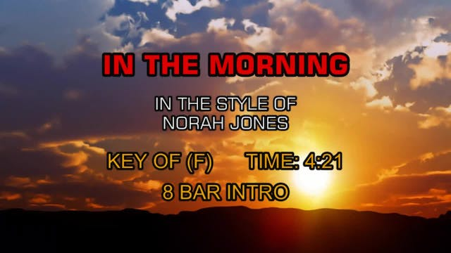 Norah Jones - In The Morning