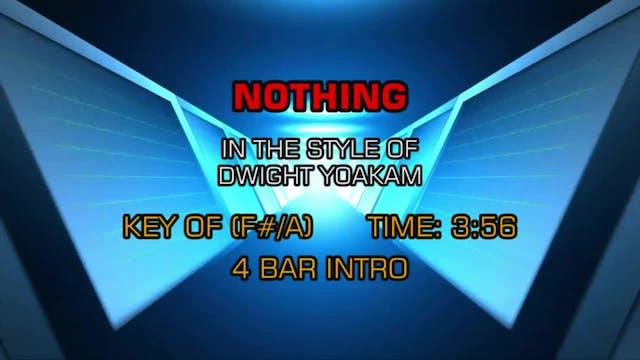 Dwight Yoakam - Nothing