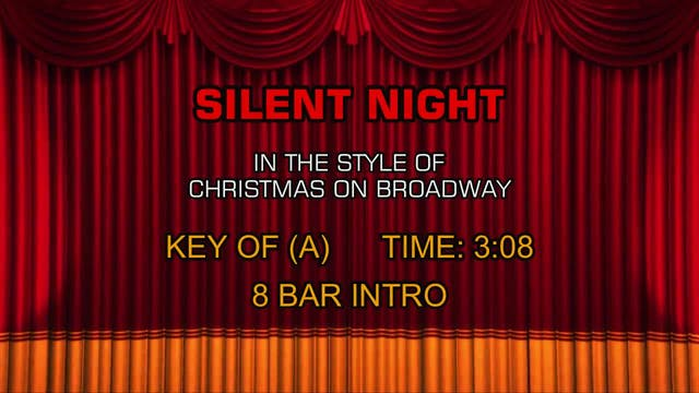 Christmas On Broadway - Silent Night