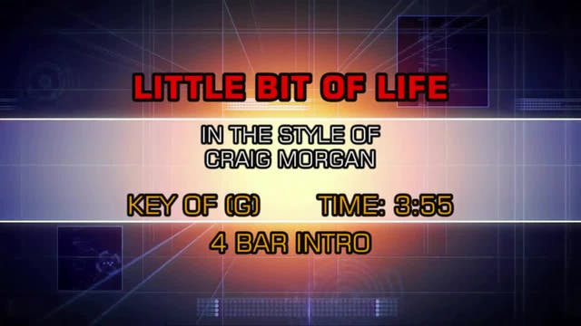 Craig Morgan - Little Bit Of Life