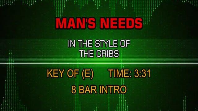 The Cribs - Man's Needs