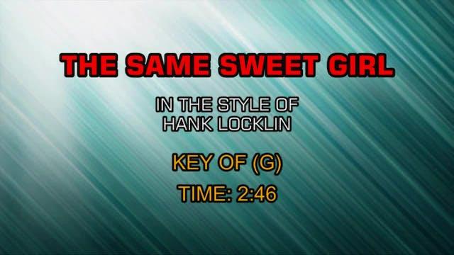 Hank Locklin - The Same Sweet Girl