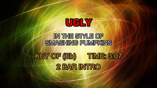 Smashing Pumpkins - Ugly