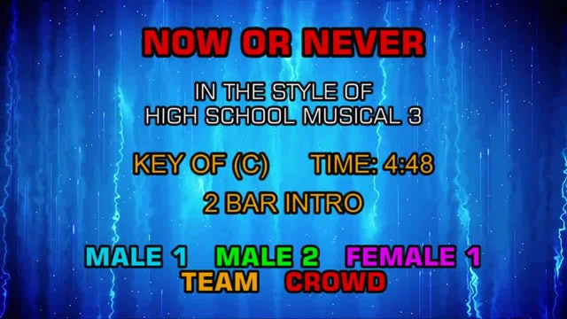 High School Musical 3 - Now Or Never