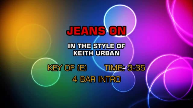 Keith Urban - Jeans On