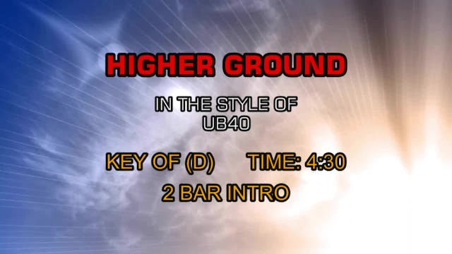 Ub40 - Higher Ground