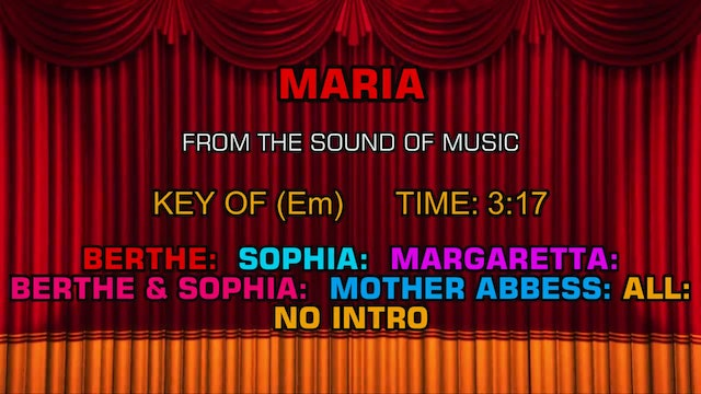The Sound of Music - Maria