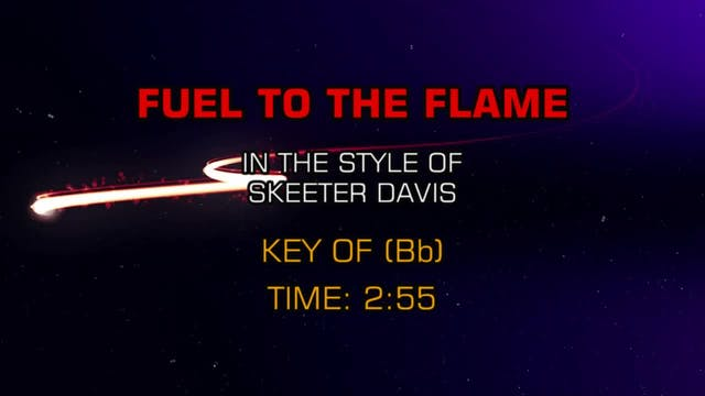 Skeeter Davis - Fuel To The Flame