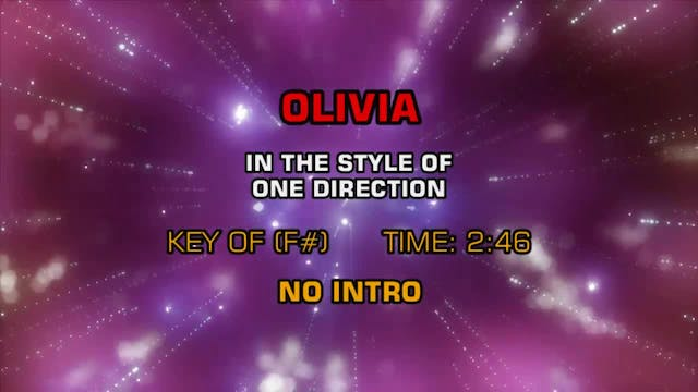 One Direction - Olivia