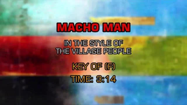 Village People, The - Macho Man