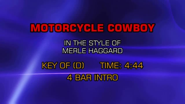 Merle Haggard - Motorcycle Cowboy