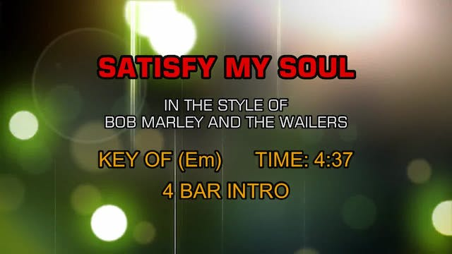 Bob Marley And The Wailers - Satisfy ...