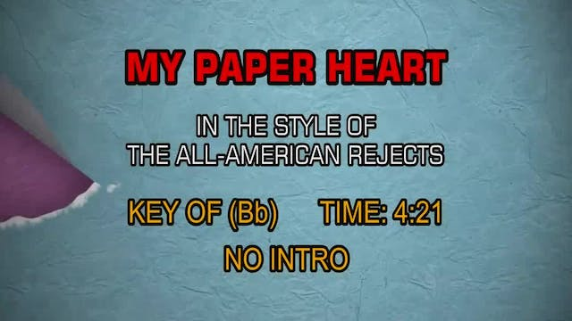 All-American Rejects, The - My Paper ...