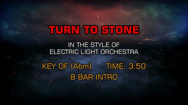 Electric Light Orchestra - Turn To Stone