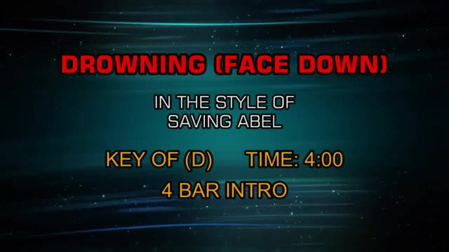 Saving Abel - Drowning (Face Down)