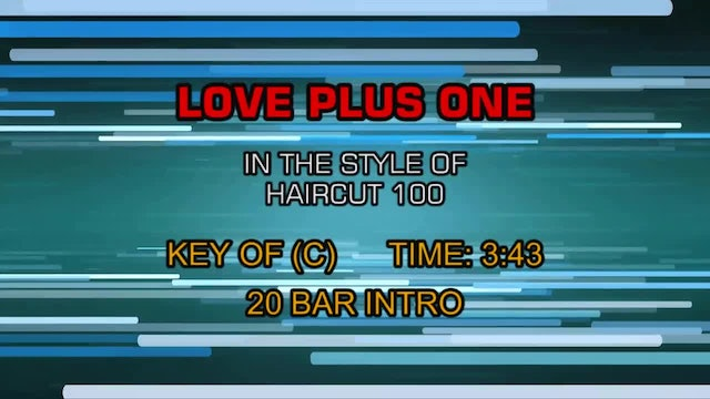 Haircut 100 - Love Plus One