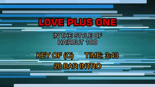 Haircut 100 - Love Plus One
