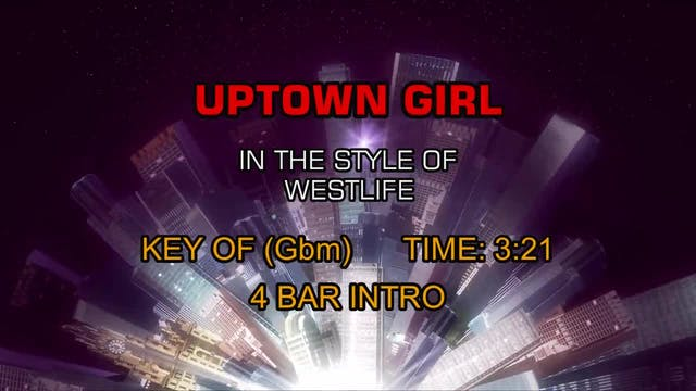 Westlife - Uptown Girl