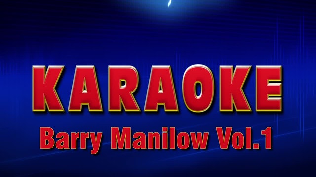 Lightning Round Karaoke - Barry Manilow Vol. 1