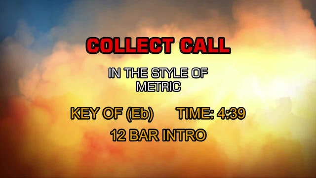 Metric - Collect Call