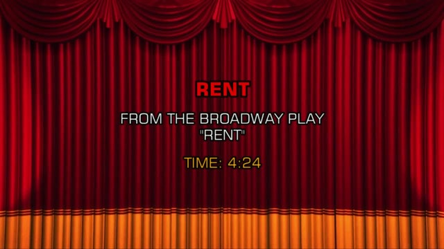 Songs From Rent - Rent
