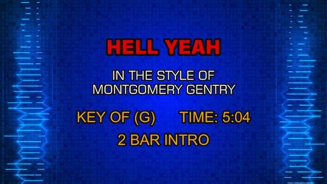 Montgomery Gentry - Hell Yeah