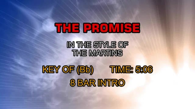 Martins, The - Promise, The