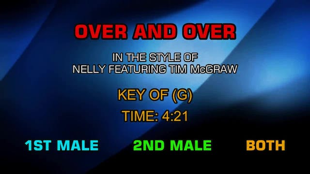Nelly (ftg. Tim McGraw) - Over And Over