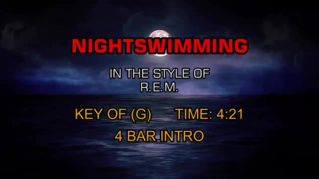 R.E.M. - Nightswimming