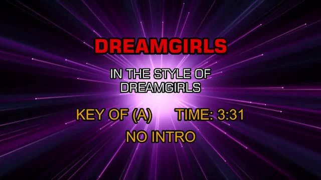 From Dreamgirls - Dreamgirls