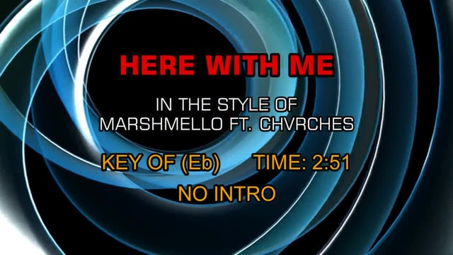 Marshmello ft. CHVRCHES - Here With Me