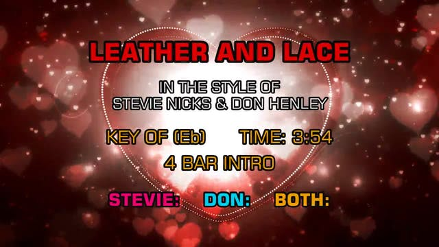 Stevie Nicks & Don Henley - Leather A...