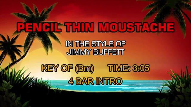 Jimmy Buffett - Pencil Thin Moustache