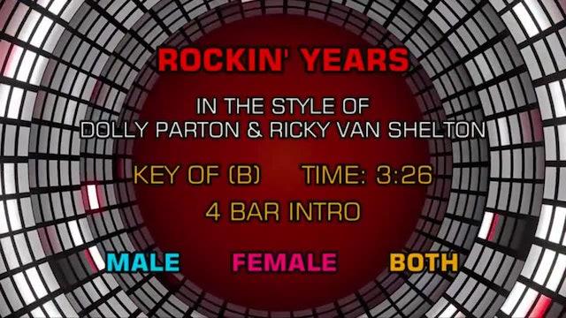 Dolly Parton & Ricky Van Shelton - Rockin' Years