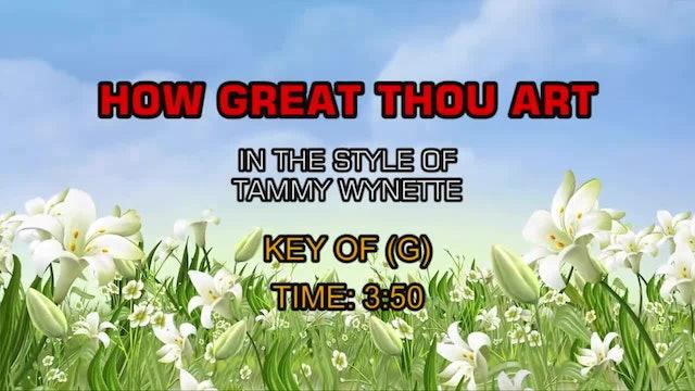 Tammy Wynette - How Great Thou Art