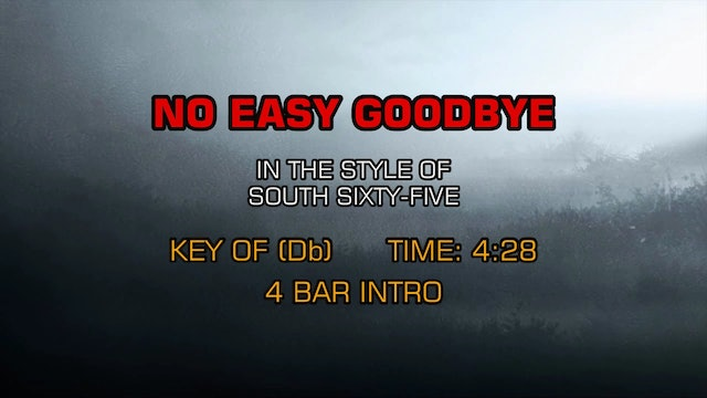 South Sixty-Five - No Easy Goodbye